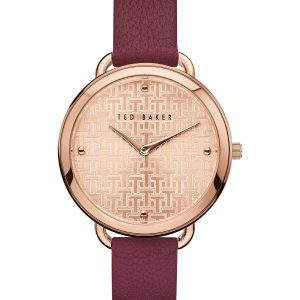 Ρολόι Ted Baker Hettie Rose Gold/Bordeaux – BKPHTF903