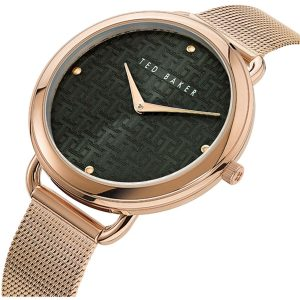 Ρολόι Ted Baker Hettie Rose Gold/Black - BKPHTF912