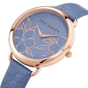 Ρολόι Ted Baker Hettie Rose Gold/Blue - BKPHTS006