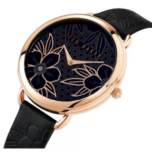 Ρολόι Ted Baker Hettie Rose Gold/Black - BKPHTS007
