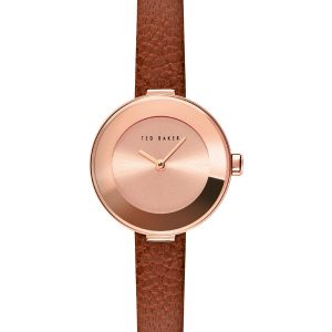 Ρολόι Ted Baker Lenara Rose Gold/Brown – BKPLEF906