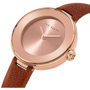 Ρολόι Ted Baker Lenara Rose Gold/Brown - BKPLEF906