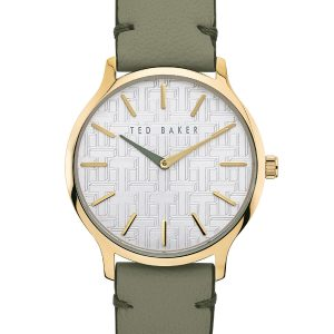 Ρολόι Ted Baker Poppiey Grey/Green – BKPPOF904