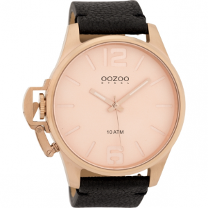 Screenshot_2019-04-18 OOZOO STEEL XL ROSE GOLD BLACK LEATHER STRAP