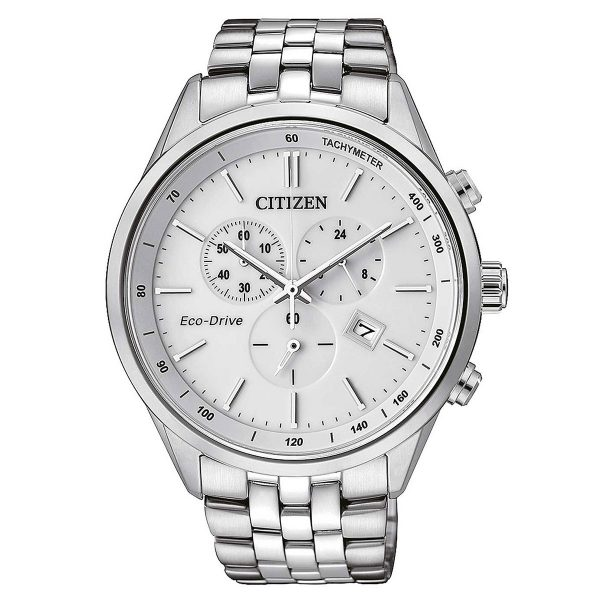 Citizen Steel eco chrono & Sports AT2141-87A