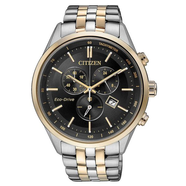 Citizen Steel eco chrono & Sports AT2146-59E