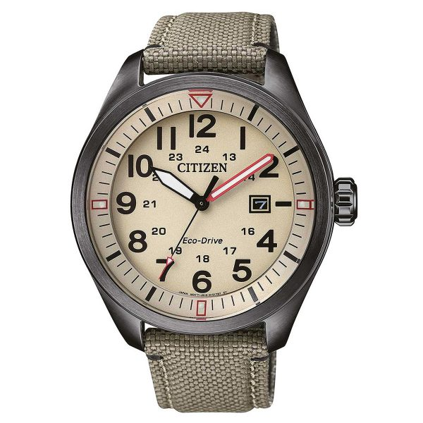 Citizen Steel eco military AW5005-12X